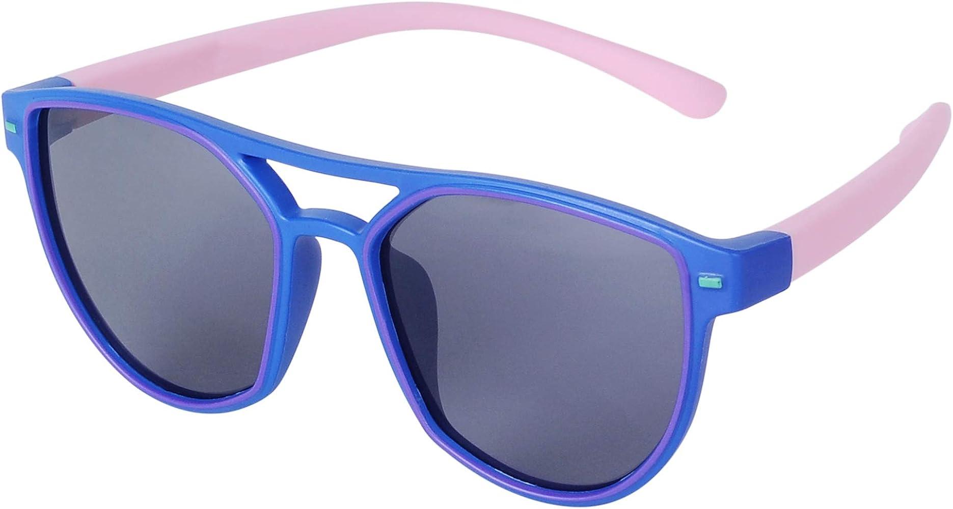 JoXiGo Gafas de Sol Polarizadas Flexible Niño y Niña (3-10 ...