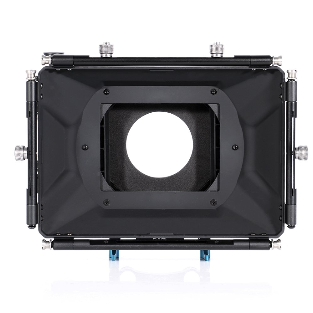 Fotga DP500 III DSLR Swing Away Matte Box + Sunshade Board +Filter Holder + 15mm Rod Adapter for Canon 5D3 BMPCC Sony A7R A7S Panasonic GH3 GH4 GH5 Camera by Fotoplaza (Image #4)