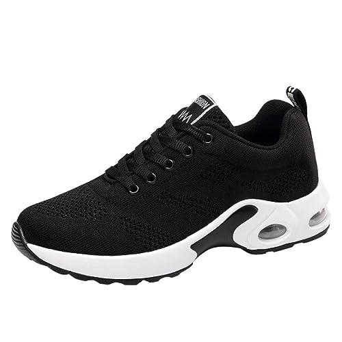 Zapatillas de Deportivo Running Plataforma Cuña para Mujer Otoño Verano 2018 Moda PAOLIAN Casual Zapatos Escolares de Deportes de Exterior Señora Cómodos ...