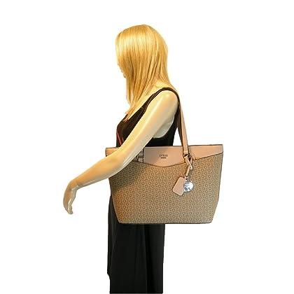6c00651f830 ... New Guess G Logo XL Purse Hand Bag Tote   Wallet Set 2 Piece Matching  Mocha