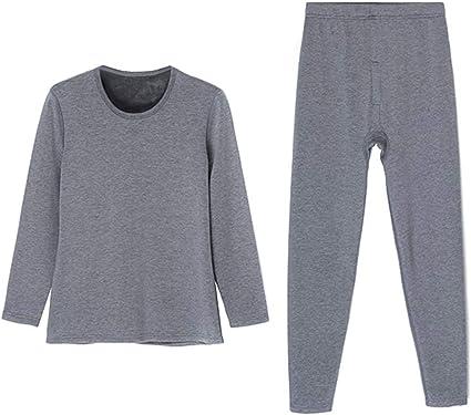 Pijama Ropa Interior Térmica de Manga Larga para Hombres de ...