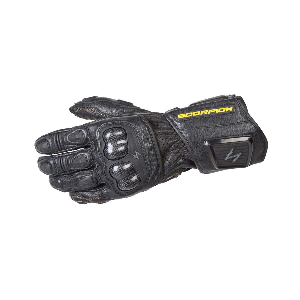 ScorpionExo SG3 MKII Men's Long Gauntlet Sport Gloves (Black, X-Large)