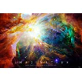 Nebula - Einstein Quote Poster 36 x 24in