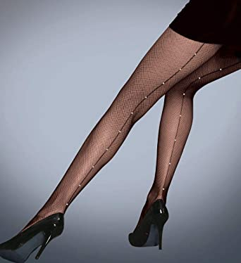 f50e2eab136f8 Womens Ladies Silky Scarlet Diamante Fishnet Tights Black Natural Sparkly  Tights: Amazon.co.uk: Clothing
