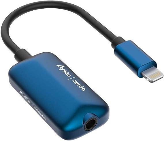 IKKO ポータブルDACアンプ ITM03-LIGHTNINGBLUE ブルー [DAC機能対応 /ハイレゾ対応]
