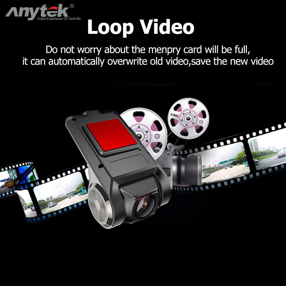 Amazon.com: Anytek X28 Vehicle Video Recorder/Navigator Camera 1080P FHD WiFi ADAS G-Sensor Dash Cam: Home Audio & Theater