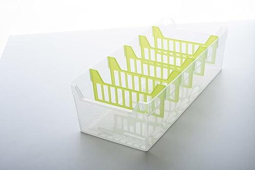 BranQ - Organizador de Condimentos o de Especias con seis divisiones, disponible en dos colores: verde y transparente (transparente): Amazon.es: Electrónica