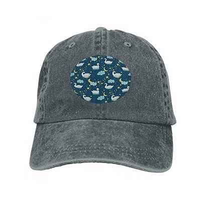 Vintage Denim Cap Hat Adjustable Sports Trucker Baseball Hat