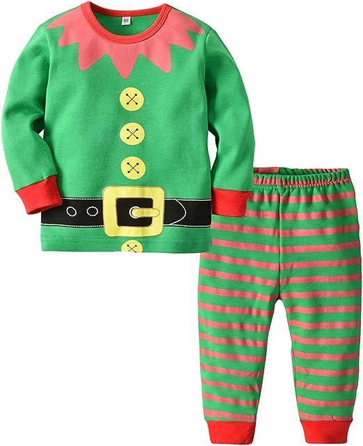BESTOYARD Conjunto de Disfraz Elfo para Bebés Niños Niñas de ...