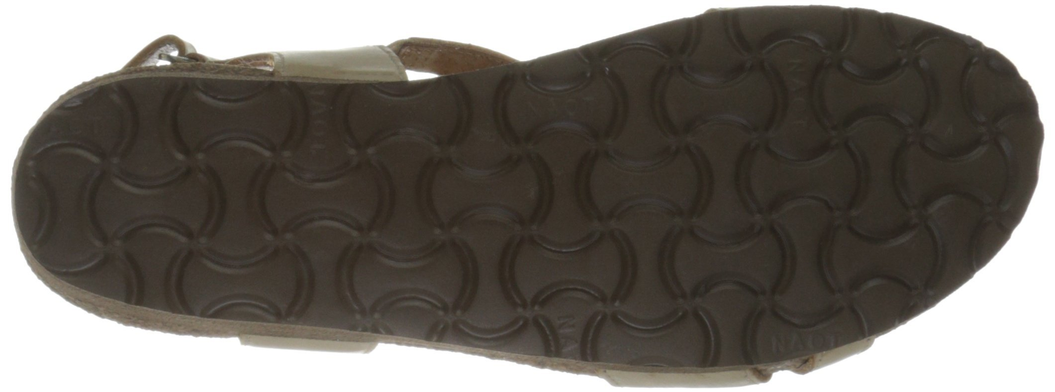 Naot Women's Bernice Wedge Sandal, Biscuit Leather, 35 EU/4.5-5 M US by NAOT (Image #3)