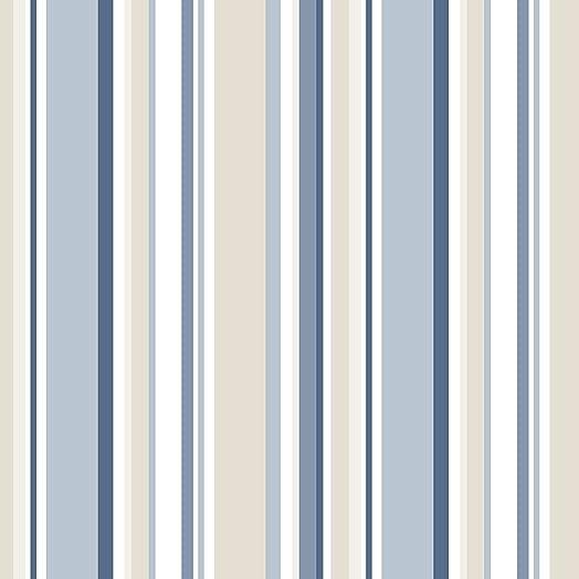 Sy33963 Galerie Stripes 2 Beige Blue White Varied Stripe Wallpaper