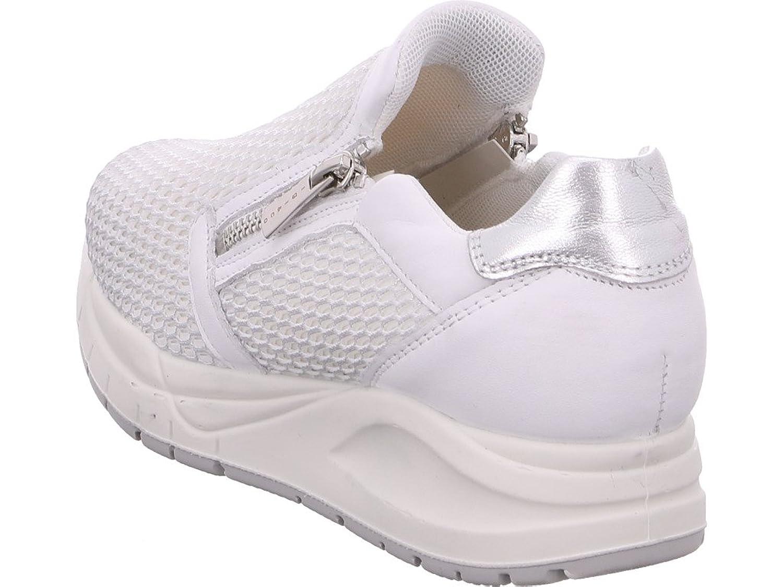 IGI & Co Damen Halbschuh/Sneaker/Slipper bianco/argento (Silber) 7776300 Igi & Co jf5EZH0hUH