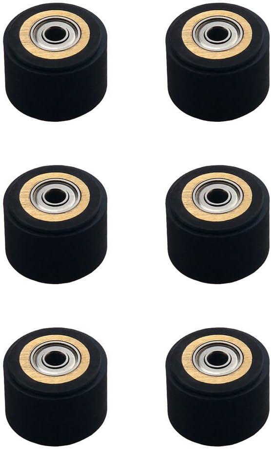 6 piezas Pinch Roller para plotter de corte de vinilo Roland Schneider (3mmx10mmx14mm): Amazon.es: Electrónica