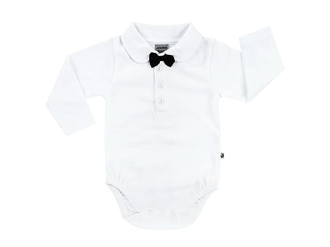 Jacky - Ropa de bautizo - para bebé niño Fliege Schwarz 12 meses