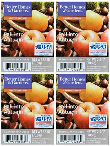 Better Homes and Gardens Fall Into Autumn Wax Cubes - 4-Pack from Better Homes & Gardens