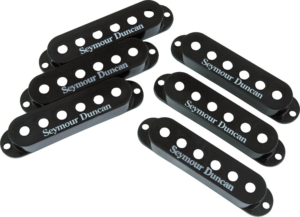 Seymour Duncan Single-Coil Pickup Cover Black by Seymour Duncan (Image #1)