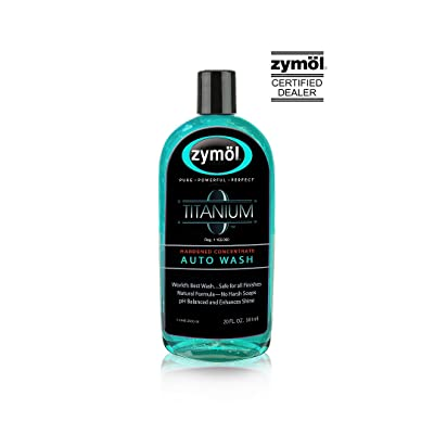 Zymol Titanium Auto Wash - 20 oz. Hardened Concentrate: Automotive