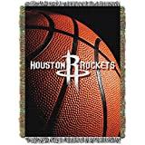 Northwest Houston Rockets NBA Woven Tapestry Throw 48'' x 60'' Blanket