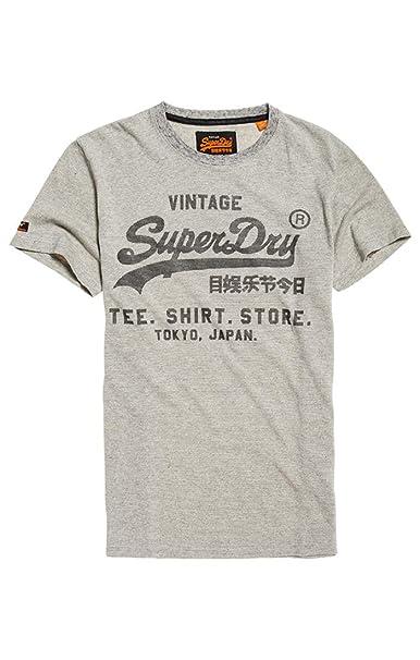d480ef5c7b057 Superdry Men s Shirt Shop Feeder Tee Kniited Tank Top  Amazon.co.uk   Clothing