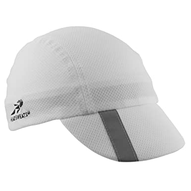 Head Sweats - Gorra de Ciclismo (Talla única), Color Blanco ...