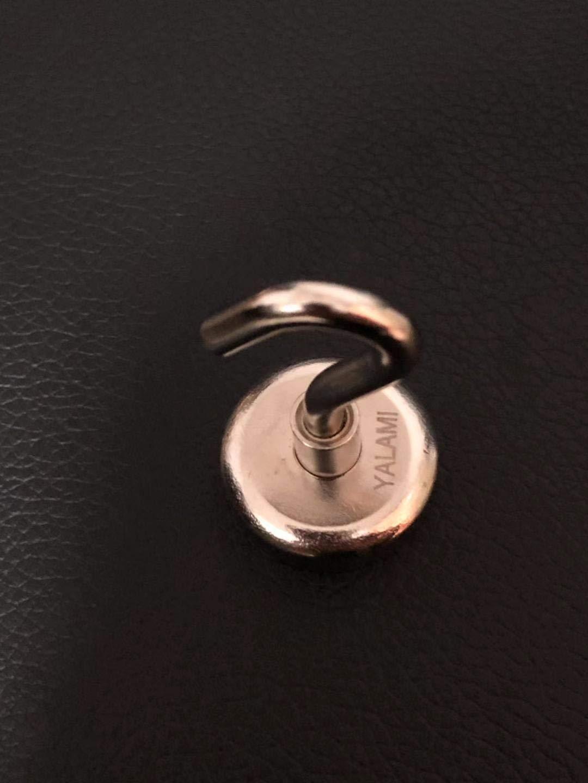 YALAMI 25LBS Heavy Duty Magnetic Hooks Diameter by YALAMI (Image #3)