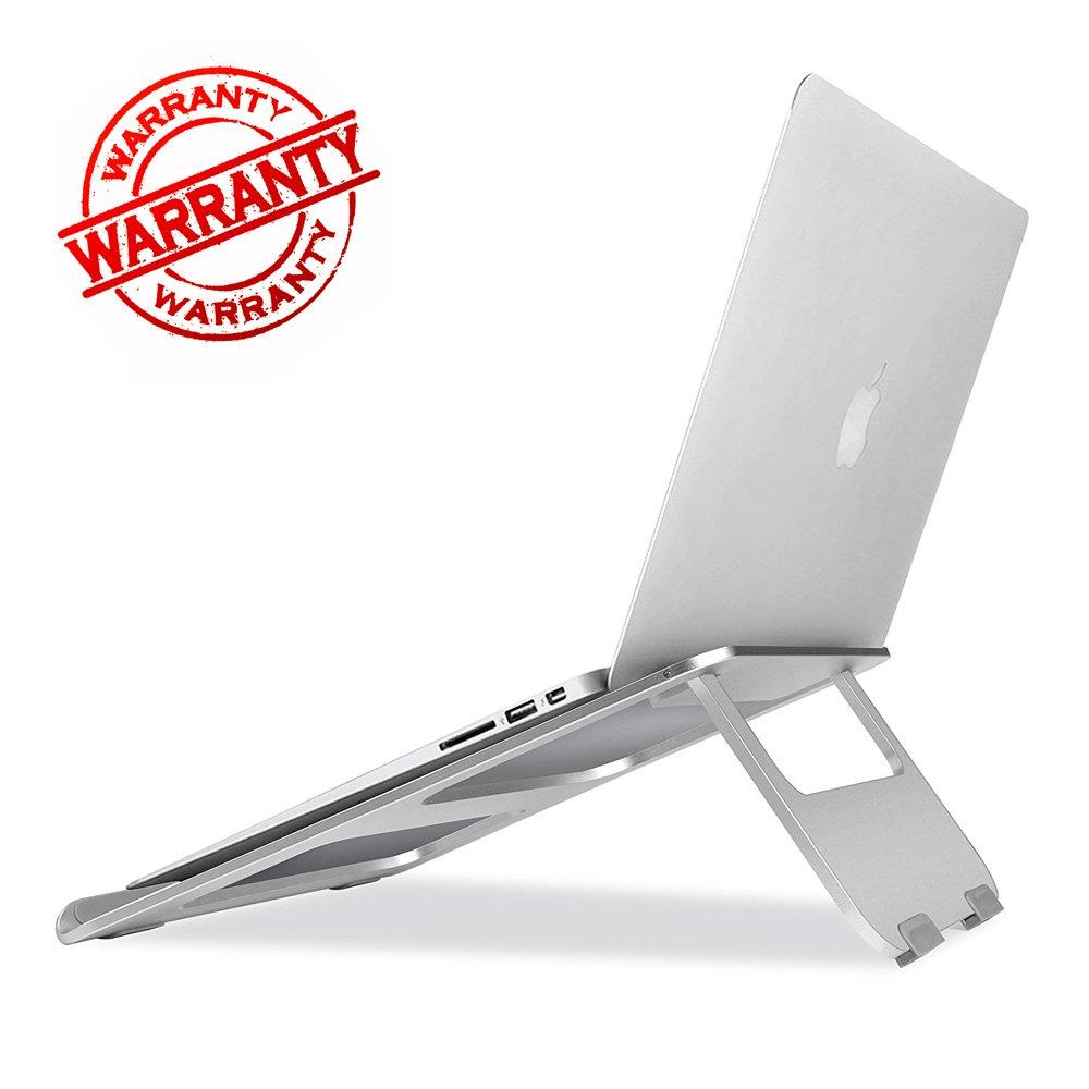 MOSTOPノートパソコンスタンド、アルミニウム製ノートPCスタンドノートパソコン冷却ベース折りたたみ式&ポータブルアルミニウムラップトップライザースタンド角度高さ調節可能なスタンドfor Apple MacBook Air、Macbook Pro、すべての13を17インチLapto   B07BK1526C