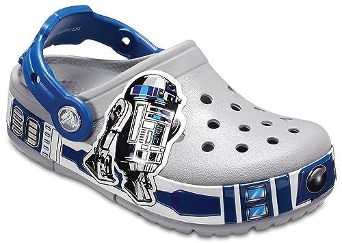meet 4367a 8a51c crocs Kinder, Mädchen, Jungen' Crocband R2-D2 Lights Clog Children Girls  Boys