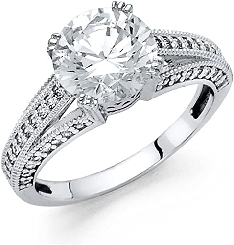 Details about  /UNIQUE CUBIC ZIRCONIA RING set in .925 STERLING SILVER FREE FAST SHIPPING !!!