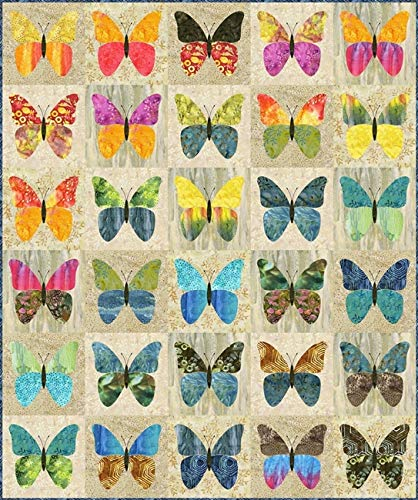 Butterflies Quilt Pattern by Laundry Basket Quilts