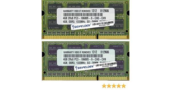 8GB (2X4GB) Memory RAM for Lenovo ThinkPad W510 - Laptop Memory Upgrade -  Limited