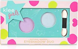 product image for Luna Star Naturals Klee Girls Eyeshadow Duo, Key West Splash Rainier Blossom/Baby Blue/Lavender, 1.3 Ounce