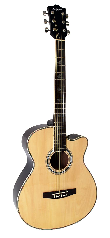 Martin Smith W-401E-N - Guitarra electroacústica, color natural: Amazon.es: Instrumentos musicales