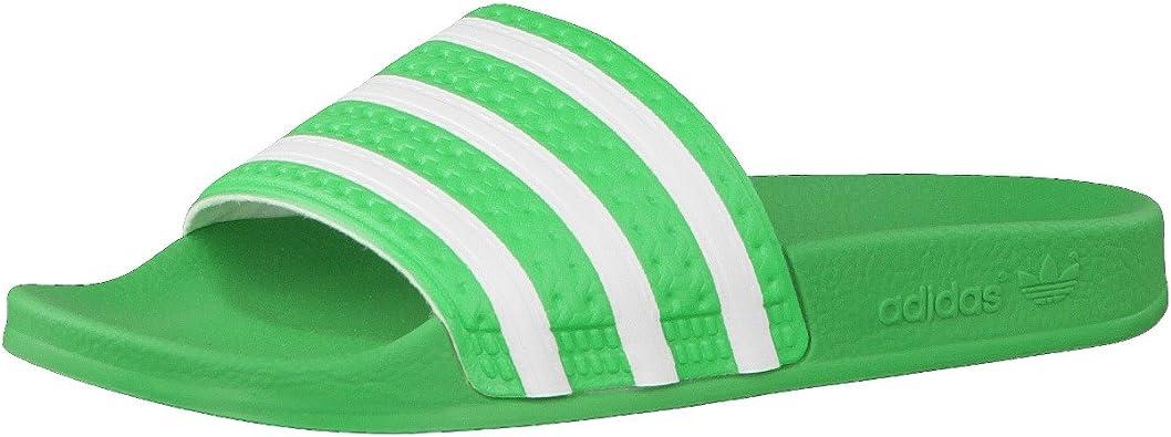 Excepcional Supone Celebridad  adidas Originals Adilette, Chanclas para Hombre, Verde-Grün (Intense Green  S11 / White/White), 40 2/3 EU: Amazon.es: Zapatos y complementos
