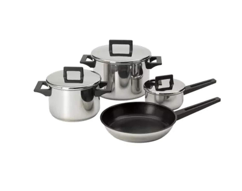 Juego de 7 utensilios de cocina de acero inoxidable, apto ...
