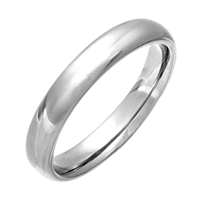 Theia Titanium Court Shape - Highly Polished Ring z0NdKl