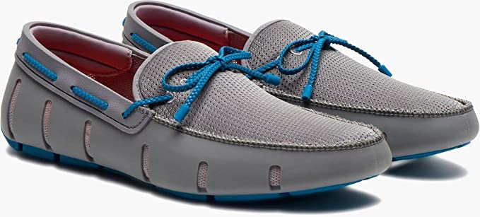 9411b3b43590 Swims Mens Braided Lace Loafer Gray Ocean Size 12  Amazon.ca ...