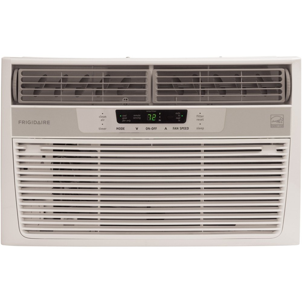 Small Bedroom Air Conditioner Amazoncom Frigidaire Fra086at7 8000 Btu Window Mounted Compact