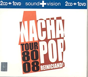 NACHA POP - TOUR 80-88 REINICIANDO SOUND+VISION 2CDS+DVD - Amazon.com Music
