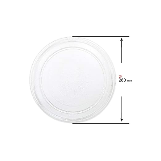 Recamania Plato Giratorio microondas diametro 280 mm A01B01: Amazon.es