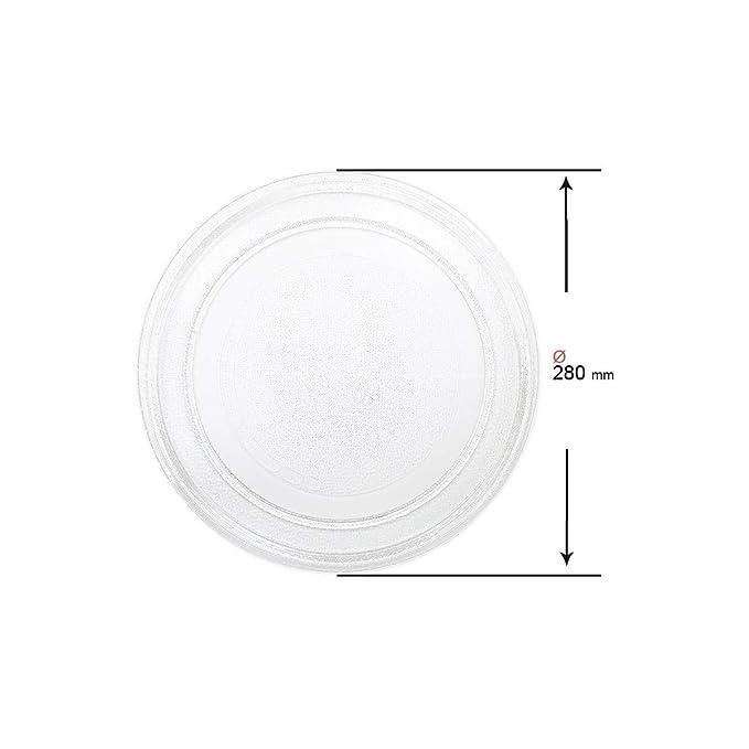 Recamania Plato Giratorio microondas diametro 280 mm A01B01