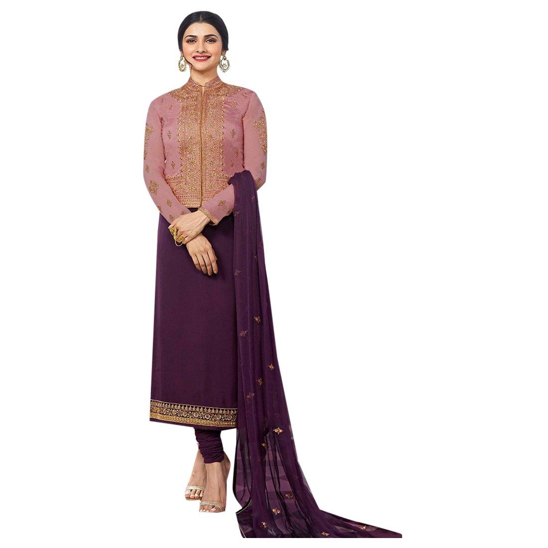 ETHNIC EMPORIUM Diseñador Bollywood Falda Plazo Colección Straight ...