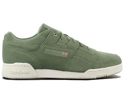 f308eeee9206a Reebok Workout Plus MCC CM9304 Green Men Trainers Sneaker Shoes Size  EU 40  UK 6.5