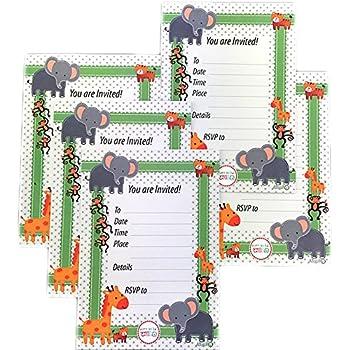Amazon Com Funfari Fun Safari Jungle Shaped Fill In