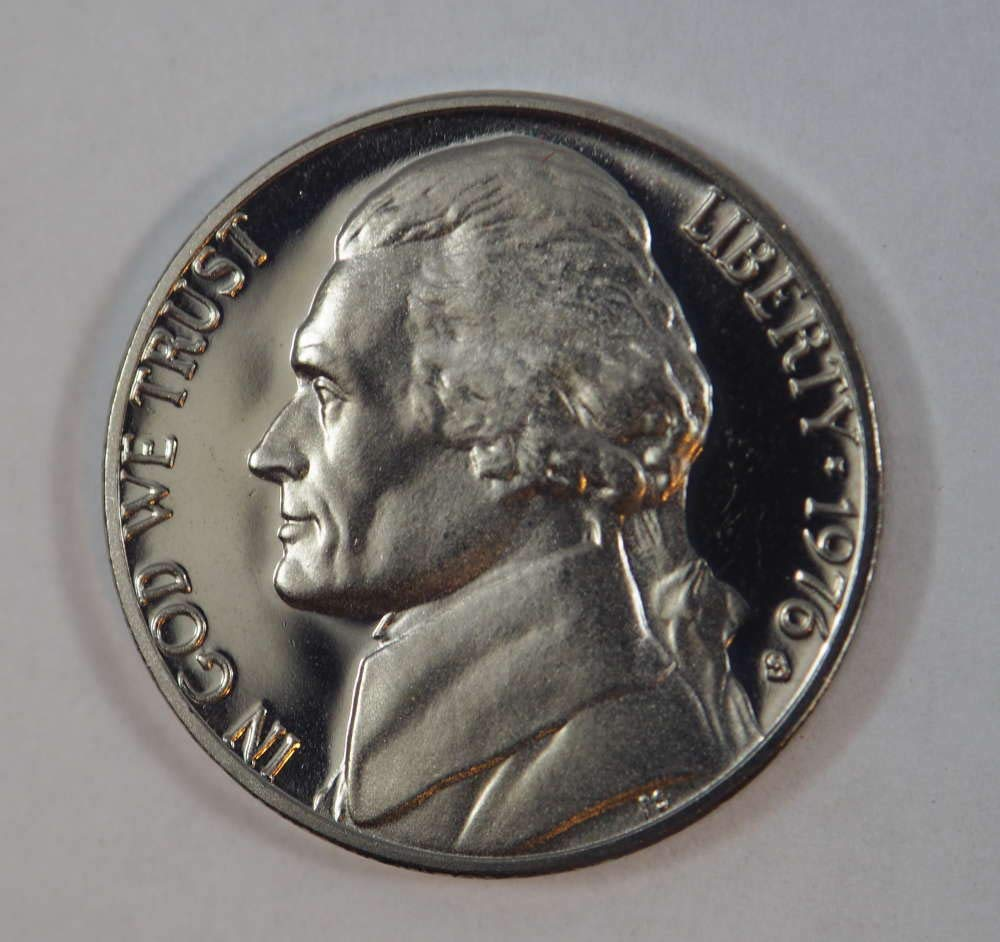 1976 S JEFFERSON *PROOF* NICKEL  **FREE SHIPPING**