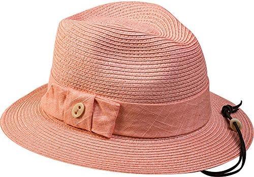 pantropic hembra - Brandy Fedora sombrero, mujer, melocotón ...