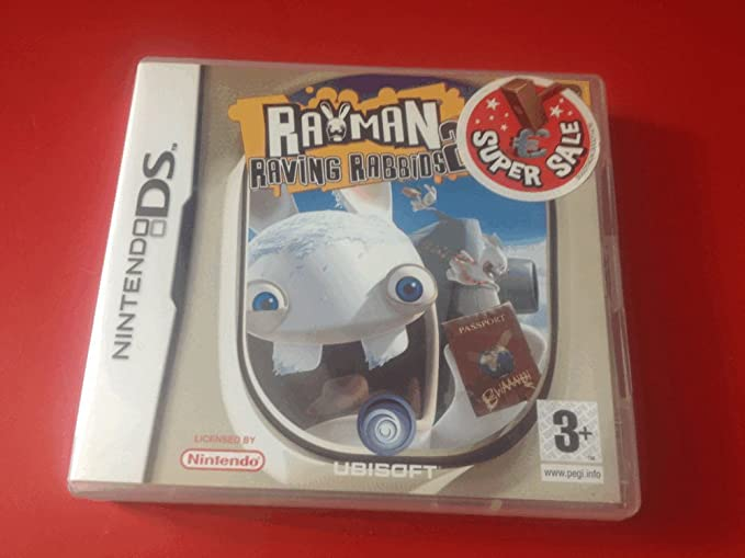 Rayman: Raving Rabbids 2 (Nintendo DS) by UBI Soft: Amazon.es: Videojuegos
