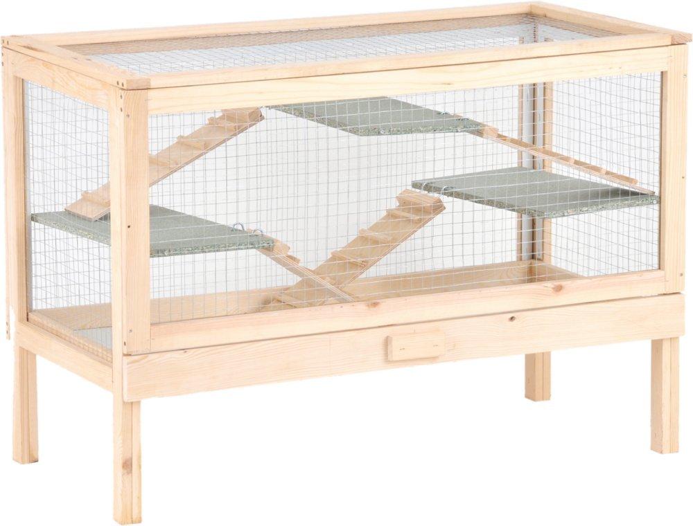 Silvio Design Nagerhaus, Nagervoliere Joe, Maße: ca. 100 x 50 x 70 cm