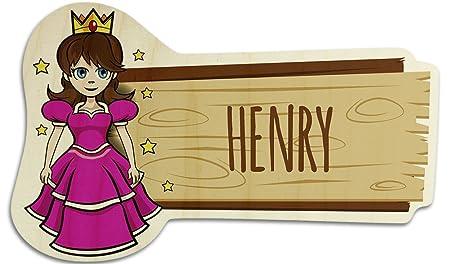 Cartel para Puerta de Madera con Nombre Henry - Varios ...