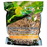 Galapagos 05054 Cypress Tank Mulch Forest Floor Bedding, 8-Quart, Natural