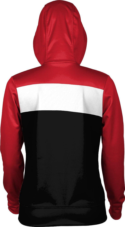Monmouth College Girls Zipper Hoodie Prime School Spirit Sweatshirt
